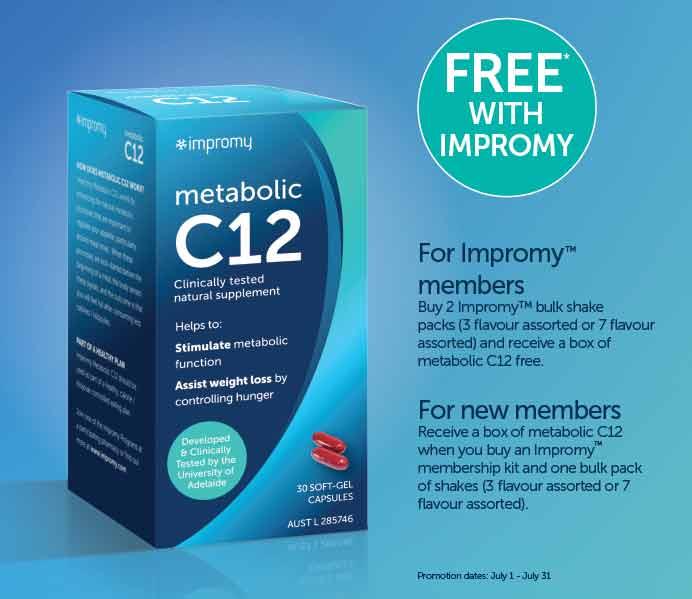 Metabolic C12 info