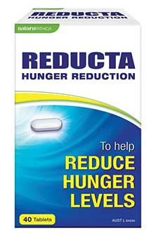 Reducta hunger reduction tablets