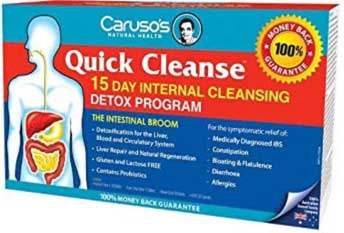 Caruso's Quick Cleanse 15 day