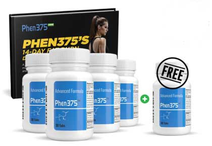 Phen375 special offer - buy 4 and get 1 free